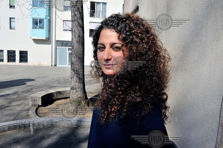 Zeina Abirached, a Lebanese illustrator, graphic novelist and comic artist. Her books are based on autobiographic narratives related to her childhood in the Lebanese Civil War