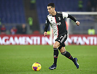 Football, Serie A: S.S. Lazio - Juventus Olympic stadium, Rome, December 7, 2019. <br /> Juventus' Cristiano Ronaldo in action during the Italian Serie A football match between S.S. Lazio and Juventus at Rome's Olympic stadium, Rome on December 7, 2019.<br /> UPDATE IMAGES PRESS/Isabella Bonotto