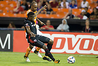 Washington, D.C. - July 22, 2017: The Houston Dynamo defeated DC United  3-1 in an MLS match at RFK Stadium.