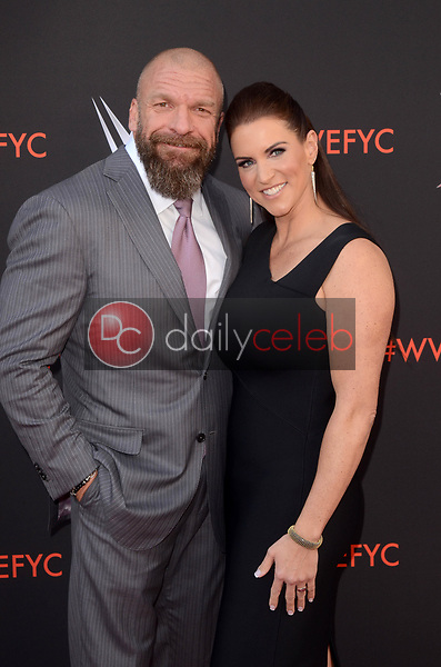 Stephanie McMahon, Triple H<br /> at the WWE EMMY For Your Consideration Event, Saban Media Center, North Hollywood, CA 06-06-18<br /> David Edwards/Dailyceleb.com 818-249-4998