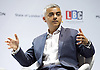 Sadiq Khan<br /> Mayor of London <br /> State of London debate hosted by LBC <br /> at The O2 Arena, London, Great Britain <br /> 30th July 2016 <br /> <br /> Sadiq Khan <br /> <br /> <br /> <br /> Photograph by Elliott Franks <br /> Image licensed to Elliott Franks Photography Services