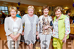 Pearl Brown (Tralee) received a Volunteers Awards in the Kerry Hospice on Thursday night.<br /> L to r: Ita Behan (Tralee), Margaret Creen (Tralee), Pearl Brown (Tralee) and Bridie O'Connor (Tralee).