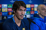 Rostov's Cesar Navas during the press conference before the match of UEFA Champions League between Atletico de Madrid and FC Rostov, at Vicente Calderon Stadium,  Madrid, Spain. October 31, 2016. (ALTERPHOTOS/Rodrigo Jimenez)