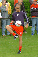 KV Kortrijk eerste training..Tristan Lahaye..fotos DAVID CATRY/VDB