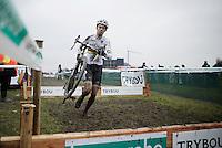 World Champion Wout Van Aert (BEL/Crelan-Vastgoedservice)<br /> <br /> Noordzeecross - Middelkerke 2016
