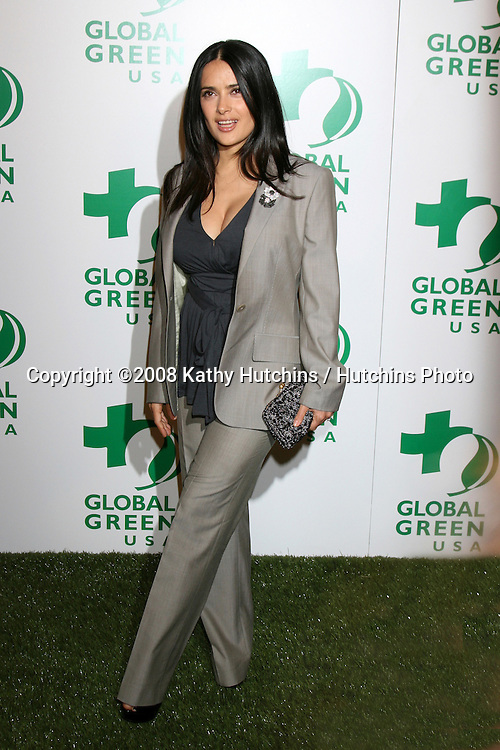 Salma Hayek.Global Green Pre-Oscar Party.Avalon.Los Angeles, CA.February 20, 2008.©2008 Kathy Hutchins / Hutchins Photo....