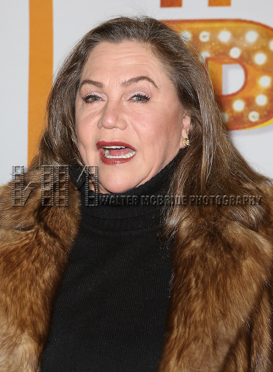 Kathleen Turner attends the Re-Opening Night of 'It's Only A Play'  at the Bernard B. Jacobs Theatre on January 23, 2014 in New York City.