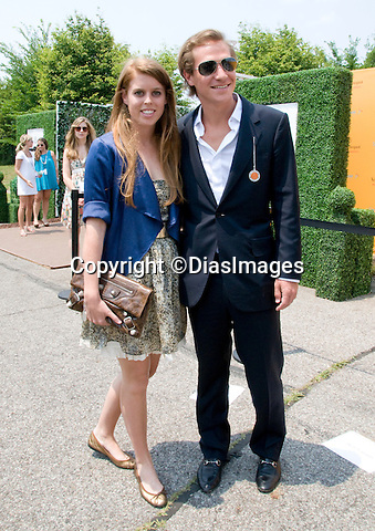 "PRINCESS BEATRICE AND DAVE CLARK.attends Veuve Clicquot Polo, Governor's Island, New York.Prince Harry played in the 3rd Annual Veuve Clicquot Polo Classic to benefit the American Friends of Sentebale, the global charity founded by Prince Harry and Prince Seeiso of Lesotho_27/06/2010.Mandatory Credit Photo: ©FRANCIS DIAS/DiasImages/NEWSPIX INTERNATIONAL..**ALL FEES PAYABLE TO: ""NEWSPIX INTERNATIONAL""**..IMMEDIATE CONFIRMATION OF USAGE REQUIRED:.Newspix International, 31 Chinnery Hill, Bishop's Stortford, ENGLAND CM23 3PS.Tel:+441279 324672  ; Fax: +441279656877.Mobile:  07775681153.e-mail: info@newspixinternational.co.uk"