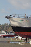 "Port Townsend, Port of Port Townsend, Boat Haven Marina, boat harbor, salmon packer, ""Robert S"", Jefferson County, Olympic Peninsula, Washington State, Pacific Northwest, USA,"