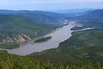 The Yukon River 2010, View from Solomon's Dome, THE YUKON TERRITORY, CANADA