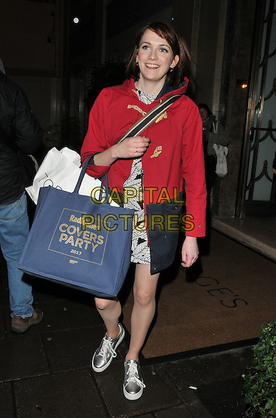Charlotte Ritchie at the Radio Times Covers Party, Claridge's Hotel, Brook Street, London, England, UK, on Tuesday 31 January 2017.<br /> CAP/CAN<br /> &copy;CAN/Capital Pictures
