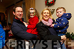 Alex, Alison,Kay and Cormac Hoffman at the Kerins O'Rahillys children's  Christmas party in the clubrooms on Sunday.