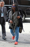 www.acepixs.com<br /> <br /> April 20 2017, New York City<br /> <br /> Actress Whoopi Goldberg arrives at a downtown hotel on April 20 2017 in New York City<br /> <br /> By Line: Curtis Means/ACE Pictures<br /> <br /> <br /> ACE Pictures Inc<br /> Tel: 6467670430<br /> Email: info@acepixs.com<br /> www.acepixs.com