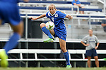 07 September 2014: Duke's Rebecca Quinn (CAN). The Duke University Blue Devils hosted the Penn State University Nittany Lions at Koskinen Stadium in Durham, North Carolina in a 2014 NCAA Division I Women's Soccer match. PSU won the game 4-3.