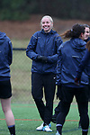 RALEIGH, NC - MARCH 13: Courtney Niemiec. The North Carolina Courage held their first ever training session on March 13, 2017, at WRAL Soccer Center in Raleigh, NC to start their preseason before the 2017 NWSL Season. Prior to its offseason relocation the team was known as the Western New York Flash.