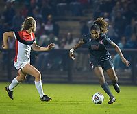 STANFORD, CA - November 9, 2018: Catarina Macario at Laird Q. Cagan Stadium. The top seeded Stanford Cardinal defeated the Seattle Redhawks 3-0 in the opening round of the NCAA tournament.