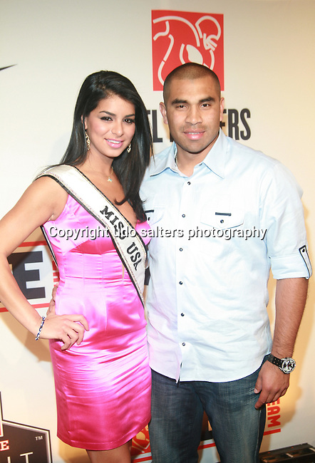 """Miss USA Rima Fakih and MLB Player Ricky Romeo Attend the NFL Players Association Rookie Debut """"One Team Celebration"""" Held at Cipriani Wall Street, NY  4/30/2011"""