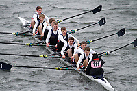 Crew: 111  Monkton Combe Sch  Event: School J16 1st eights<br /> <br /> Schools' Head of the River 2017<br /> <br /> To purchase this photo, or to see pricing information for Prints and Downloads, click the blue 'Add to Cart' button at the top-right of the page.