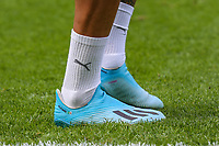 The football boots of Gabriel Jesus of Manchester City during the Premier League match between West Ham United and Manchester City at the London Stadium, London, England on 10 August 2019. Photo by David Horn.