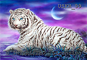 Kayomi, REALISTIC ANIMALS, paintings, tiger, MoonLake_M, USKH99,#A# realistische Tiere, realista, illustrations, pinturas
