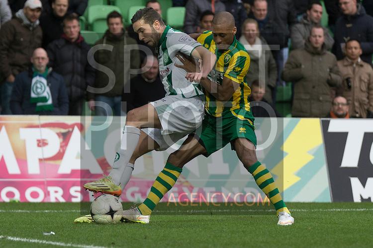 01-03-2015, Den Haag, Mimoun Mahi of FC Groningen,