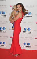 Kimberleigh Gelber at the Battersea Dogs &amp; Cats Home Collars &amp; Coats Gala Ball 2018, Battersea Evolution, Battersea Park, London, England, UK, on Thursday 01 November 2018.<br /> CAP/CAN<br /> &copy;CAN/Capital Pictures