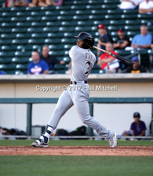 Corey Ray - Salt River Rafters - 2017 Arizona Fall League (Bill Mitchell)