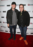 "11 July 2017 - West Hollywood, California - Tom Gustafson, Cory Krueckeberg. ""Hello Again"" 2017 Outfest Los Angeles LGBT Film Festival Screening. Photo Credit: F. Sadou/AdMedia"