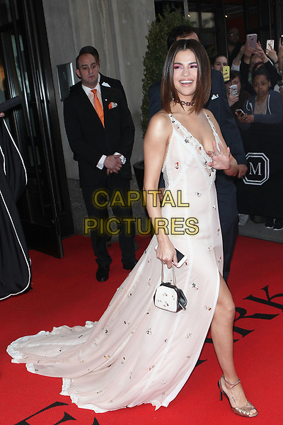 Celebrities Leaving The Mark Hotel To The Met Gala | CAPITAL PICTURES