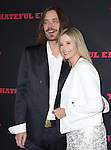 Christopher Backus and Mira Sorvino<br />  at The Weinstein L.A. Premiere of The Hateful Eight held at The Arclight Theatre in Hollywood, California on December 07,2015                                                                   Copyright 2015 Hollywood Press Agency