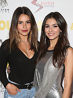 WESTWOOD, CA - April 13: Madison Reed, Victoria Justice, At Premiere Of Swen Group's &quot;The Outcasts&quot; At The Landmark Regent  In California on April 13, 2017. <br /> CAP/MPIFS<br /> &copy;MPIFS/Capital Pictures