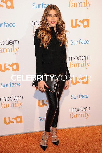 """WESTWOOD, CA - OCTOBER 28: USA Network Hosts """"Modern Family"""" Fan Appreciation Day held at Westwood Village Theatre on October 28, 2013 in Westwood, California. (Photo by Rob Latour/Celebrity Monitor)"""