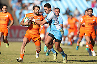 Ramiro Moyano of the Jaguares during the Super Rugby match between the Vodacom Bulls and the Jaguares at Loftus Versfeld in Pretoria, South Africa on Saturday, 7 July 2018. Photo: Steve Haag / stevehaagsports.com