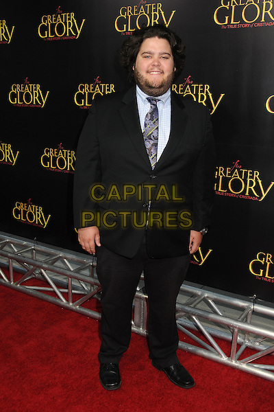 "Charlie Koontz.""For Greater Glory"" Los Angeles Premiere held at the AMPAS Samuel Goldwyn Theater, Beverly Hills, California, USA..May 31st, 2012.full length black suit beard facial hair .CAP/ADM/BP.©Byron Purvis/AdMedia/Capital Pictures."