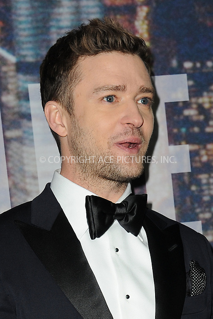 WWW.ACEPIXS.COM<br /> February 15, 2015 New York City<br /> <br /> Justin Timberlake walking the red carpet at the SNL 40th Anniversary Special at 30 Rockefeller Plaza on February 15, 2015 in New York City.<br /> <br /> Please byline: Kristin Callahan/AcePictures<br /> <br /> ACEPIXS.COM<br /> <br /> Tel: (646) 769 0430<br /> e-mail: info@acepixs.com<br /> web: http://www.acepixs.com