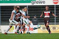 ROTINGHAUSEN - Voetbal, Sankt Pauli - FC Groningen, oefenduel, 01-09-2017, FC Groningen speler Hampus Finndell werkt de bal weg
