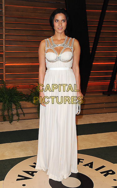 WEST HOLLYWOOD, CA - MARCH 2: Olivia Munn arrives at the 2014 Vanity Fair Oscar Party in West Hollywood, California on March 2, 2014.  <br /> CAP/MPI/MPI213<br /> &copy;MPI213/MediaPunch/Capital Pictures