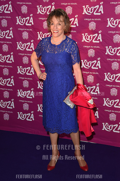 "Esther Rantzen arrives for the Cirque Du Soleil ""KOOZA"" Premiere at the Royal Albert Hall, Kensington, London. 06/01/2015 Picture by: Steve Vas / Featureflash"