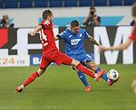 Dominik Drexler (1.FC Köln) und Steven Zuber (TSG 1899 Hoffenheim)<br /> <br /> Foto: POOLFOTO/Avanti/Ralf Poller/PIX-Sportfotos.<br /> TSG 1899 Hoffenheim-1. FC Koeln.<br /> Sinsheim,  GER, 27.05.2020 , 28. Spieltag , Fussball 1. Bundesliga 2019/2020.<br /> <br /> Sport: Fussball: LIGA: Saison 19/20: TSG 1899 Hoffenheim- 1.FC Koeln, 27.05.2020.<br /> Foto: RALF POLLER/AVANTI/POOL<br /> <br /> Nur für journalistische Zwecke! Only for editorial use! <br /> Gemäß den Vorgaben der DFL Deutsche Fußball Liga ist es untersagt, in dem Stadion und/oder vom Spiel angefertigte Fotoaufnahmen in Form von Sequenzbildern und/oder videoähnlichen Fotostrecken zu verwerten bzw. verwerten zu lassen. DFL regulations prohibit any use of photographs as image sequences and/or quasi-video.