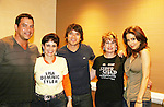 Tyler Christopher - Dominic Zamprogna - Lisa LoCiero - General Hospital pose with Dani Gendel (L) and Tineke DeRosa at Uncle Vinny's/Ferraras at the Crown Plaza in Trevose, Pennsylvania on April 22, 2010 to see fans with a q & a and autographs and taking of photos. (Photo by Sue Coflin/Max Photos0