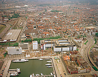 Juni 2002.  Het Eilandje in Antwerpen.