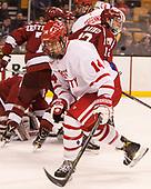 Bobo Carpenter (BU - 14) - The Harvard University Crimson defeated the Boston University Terriers 6-3 (EN) to win the 2017 Beanpot on Monday, February 13, 2017, at TD Garden in Boston, Massachusetts.
