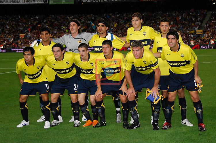 FC Barcelona vs Boca Juniors - Gamper 2008.