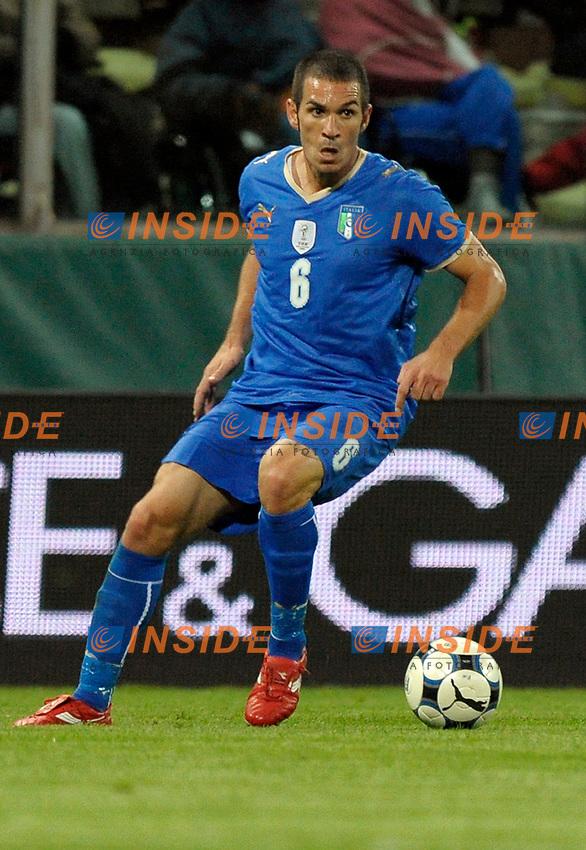 Gaetano D'Agostino (Italia) <br /> Parma 14/10/2009 Stadio Ennio Tardini<br /> Italia Cipro - Girone di qualificazione dei Mondiali del Sudafrica 2009-10.<br /> Foto Giorgio Perottino / Insidefoto