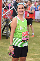 Nina Hossain<br /> at the start of the 2017 London Marathon on Blackheath Common, London. <br /> <br /> <br /> ©Ash Knotek  D3253  23/04/2017