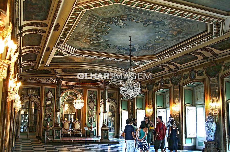 Palácio de Queluz, residência de D. Pedro I. Portugal. 2005. Foto de Rogério Reis.