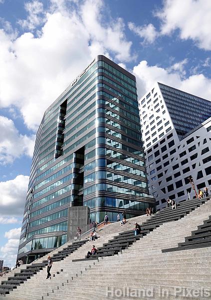 Nederland Utrecht 2018.  Het nieuwe World Trade Center (WTC) aan het Jaarbeursplein. Foto Berlinda van Dam / Hollandse Hoogte