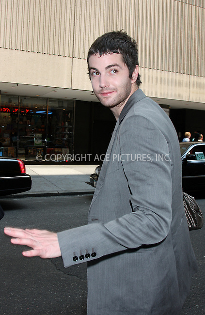 WWW.ACEPIXS.COM . . . . .  ....August 18 2009, New York city....British actor Jim Sturgess made an appearance at the MTV show'It's on with Alexa Chung' on August 18 2009 in New York City....Please byline: AJ Sokalner - ACEPIXS.COM..... *** ***..Ace Pictures, Inc:  ..tel: (212) 243 8787..e-mail: info@acepixs.com..web: http://www.acepixs.com