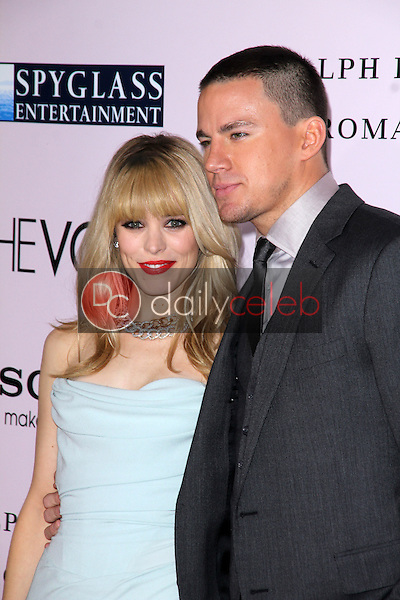 """Rachel McAdams, Channing Tatum<br /> at """"The Vow"""" World Premiere, Chinese Theater, Hollywood, CA 02-06-12<br /> David Edwards/DailyCeleb.com 818-249-4998"""