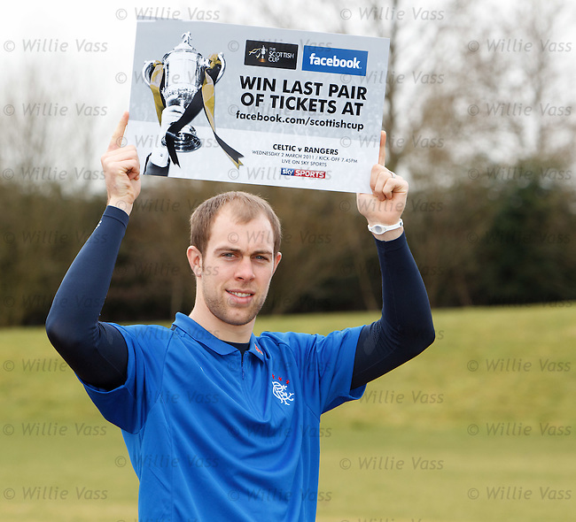 Steven Whittaker at Rangers press conference
